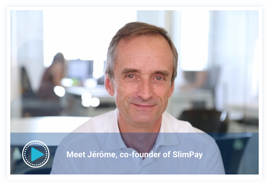 Jerome Traisnel CEO SlimPay
