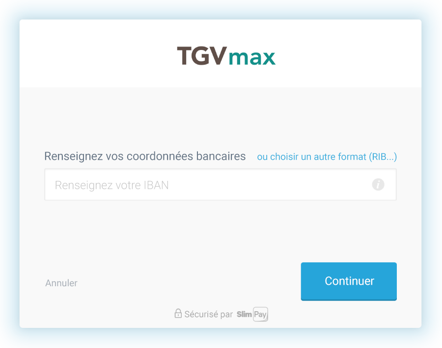 Slimpay TGVmax